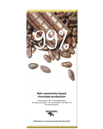 99% Crunchy Cocoa - Dark Chocolate Bar