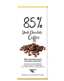Coffee - 85% Dark Chocolate Bar