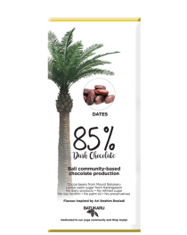 Dates - 85% Dark Chocolate Bar