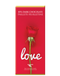Love French Biscuit - 85% Dark Chocolate Bar