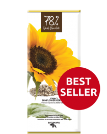 Sunflower Kernels - 78% Dark Chocolate Bar