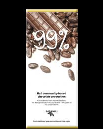 99% Crunchy Cocoa - Dark Chocolate Bar