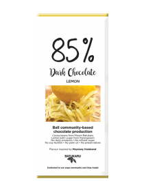 Lemon - 85% Dark Chocolate Bar