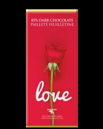 Love French Biscuit - 85% Dark Chocolate Bar