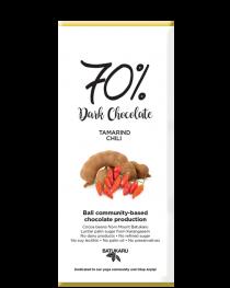 Tamarind Chili - 70% Dark Chocolate Bar